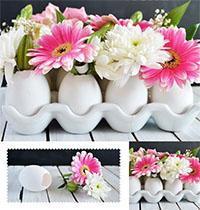 Cách cắm hoa đẹp trang trí ngày Tết