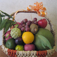 Giáo án mầm non đề tài: Lẵng trái cây của bé