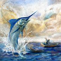Giáo án Ông già và biển cả