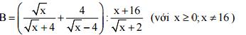Đề thi môn toán lớp 10