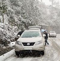 Kỹ năng lái xe an toàn trên đường có băng tuyết