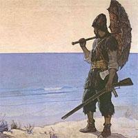 Giáo án bài Rô-Bin-Xơn ngoài đảo hoang