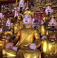 Văn khấn cúng tại đền ông Hoàng Mười