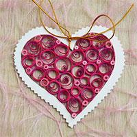 Cách làm thiệp 8-3 hình trái tim cực đẹp