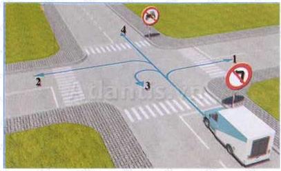 Thi sát hạch lý thuyết lái xe online miễn phí - Đề số 2
