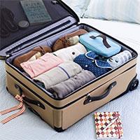 Hướng dẫn sắp xếp đồ dùng khi đi du lịch