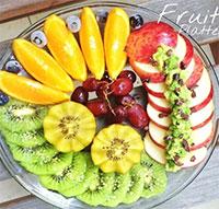 Mẹo trang trí hoa quả cực đẹp