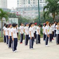 Đề thi giáo viên giỏi môn Thể dục trường THCS Số 1 Phú Nhuận, Lào Cai năm học 2013 - 2014