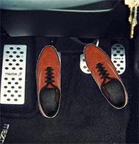 Cách đặt chân ga đúng kỹ năng cho tài xế