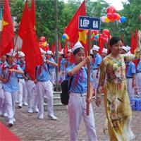 Đề kiểm tra 45 phút học kì 2 môn Địa lý lớp 6 trường THCS Trần Khánh Dư năm 2015 - 2016