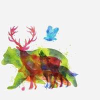 Bạn thấy con vật nào đầu tiên? Nó sẽ nói lên tính cách của bạn!
