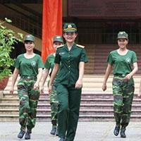Các trường quân đội không nhận hồ sơ xét tuyển trực tuyến