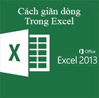 Hướng dẫn cách giãn dòng trong Excel