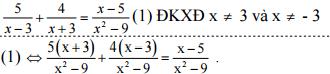 Đáp án đề thi học kì 2 môn toán lớp 8