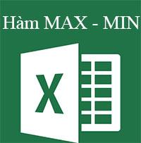 Học MS Excel 2013 bài 13: Hàm MAX và Hàm MIN