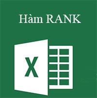 Học MS Excel 2013 bài 14: Hàm RANK