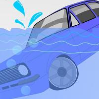 Cách thoát chết khi ô tô lao xuống nước