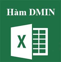 Học MS Excel 2013 bài 15: Hàm DMIN