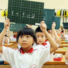Đề thi học kỳ 2 môn Tiếng Anh lớp 3 trường Tiểu Học Nguyễn Khuyến, Đắk Lắk năm học 2014 - 2015