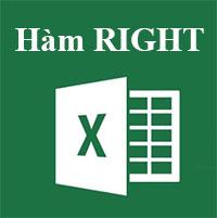 Học MS Excel 2013 bài 22: Hàm RIGHT