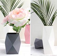Cách làm bình cắm hoa bằng 1 tờ giấy siêu độc đáo