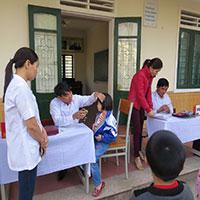 Mẫu đánh giá công tác y tế trường học mầm non