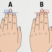 Độ dài ngón tay nói gì tính cách của bạn?