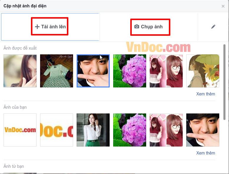 Cách thay đổi ảnh đại diện trên Facebook mà không ai biết