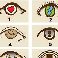 Biểu tượng con mắt nhìn thấu con người bạn