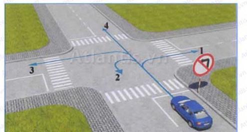 Thi sát hạch lý thuyết lái xe ô tô online miễn phí - Đề số 6