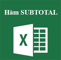 Học MS Excel 2013 bài 36: Hàm SUBTOTAL