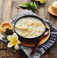 Cách nấu chè chuối cốt dừa cực kỳ thơm ngon