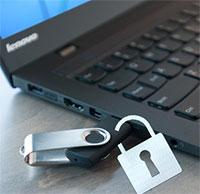 Cách khóa cổng USB trong máy tính