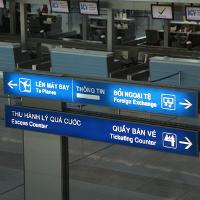 Những biển báo tiếng Anh thường gặp ở sân bay
