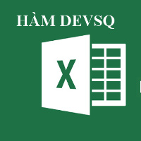 Học MS Excel 2013 bài 40: Hàm DEVSQ