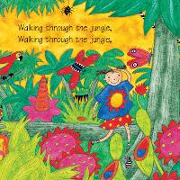 Bé học Tiếng Anh qua bài hát: Walking Through the Jungle