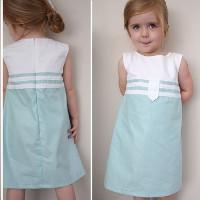 Cách may váy suông cho bé tung tăng diện hè