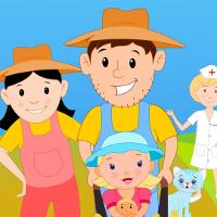 Bé học Tiếng Anh qua bài hát: The farmer in the dell