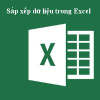 Cách sắp xếp dữ liệu trong bảng tính Excel