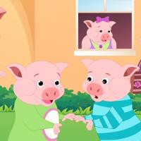 Bé học Tiếng Anh qua bài hát: This little piggy