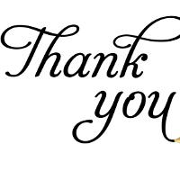 Thư cảm ơn bằng tiếng Anh