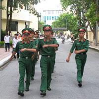 Mức thu học phí Học viện Kỹ thuật Quân sự năm 2016