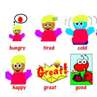 Flashcards for Kids: Feelings and Emotions