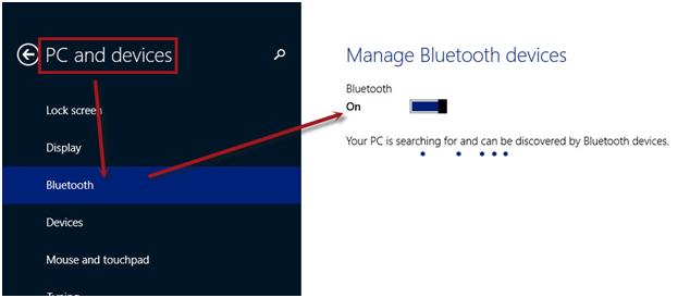 Bật tắt Bluetooth trên windows 10