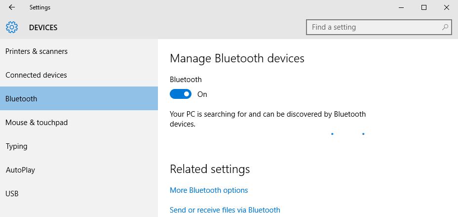 Sửa lỗi không bật được bluetooth trên PC