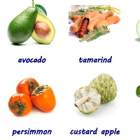 Flashcards for Kids: Fruits