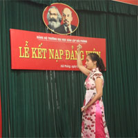 Mẫu lời tuyên thệ kết nạp đảng viên mới