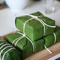 Cách gói bánh chưng bằng lá chuối cực đơn giản