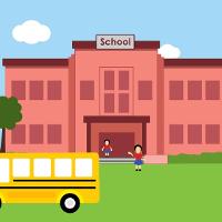 Bài tập Tiếng Anh lớp 4 Chương trình mới Unit 6: WHERE'S YOUR SCHOOL?