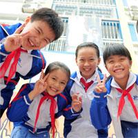 Đề kiểm tra học kì I lớp 6 môn Tiếng Anh năm 2014 - 2015 huyện Tân Châu